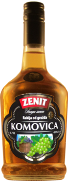 Grape brandy Komovica